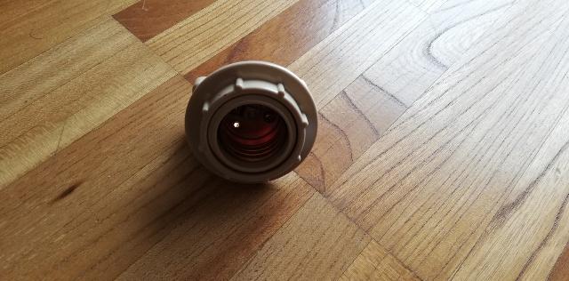 【シーリングソケット】 とLED電球を取り付ける