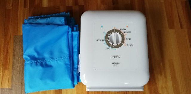 エアマットで暖めるタイプ の布団乾燥機