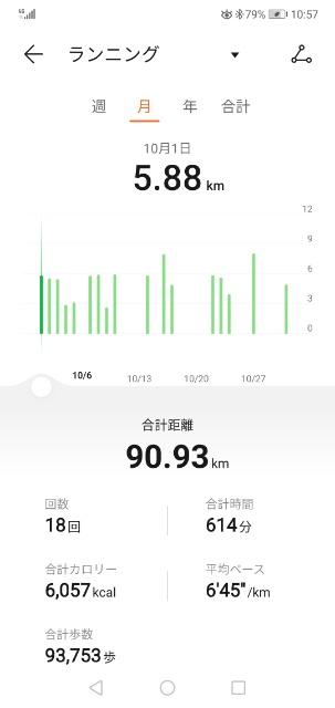 結局30日で18回しか運動しませんでした。