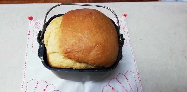 【ブリオッシュ】をパナソニックホームベーカリーのレシピで焼いた!