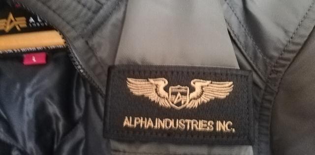 最初からジャケットに付いている「ワッペン」