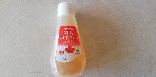 ☑材料の「スキムミルク」をクリープ、「水あめ」をハチミツで代用しています。