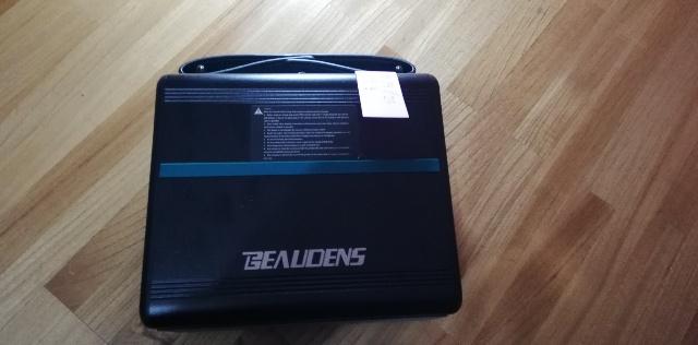 [Beaudens]ポータブル電源!空になるまでスマホだけ充電