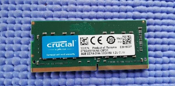 Crucial ノートPC用 メモリ PC4-21300(DDR4-2666) 8GB SODIMM