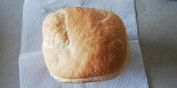 ホームベーカリーで米粉パン!間違って買った米粉の薄力粉を混ぜて焼いた!