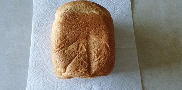 米粉パン、横からの写真