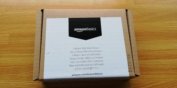 Amazonベーシック マウス!使いやすい手頃な価格のマウス!