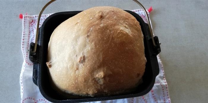クルミ食パンの出来上がり