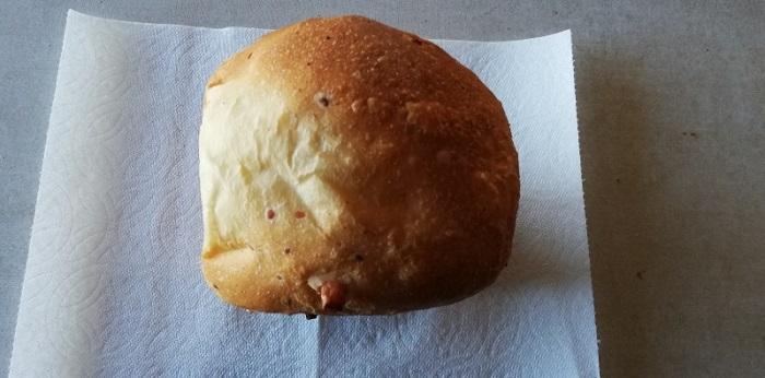 チーズ入り食パンの出来上がり