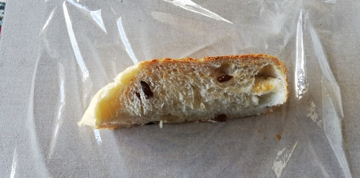 焼いたパンの冷凍方法