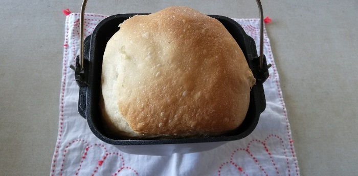 レーズン食パンの出来上がり