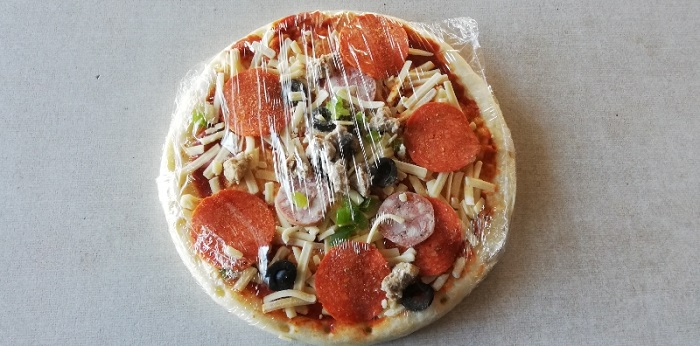 トロナのペパロニピザを解凍した
