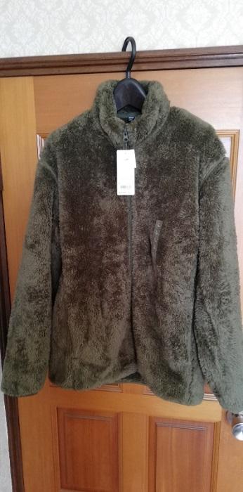 ファーフリースフルジップジャケット