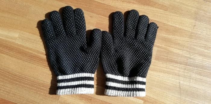 使っている手袋 軍手を少し良くした程度の手袋 手のひら