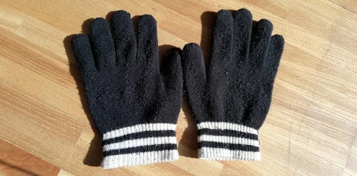 使っている手袋 軍手を少し良くした程度の手袋甲