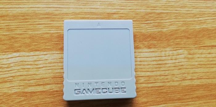 ゲームキューブのメモリーカード
