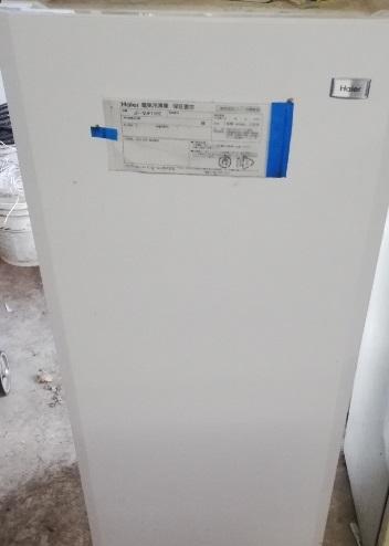 実際に使っているハイアールの冷凍庫