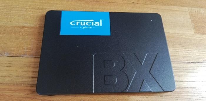 Crucial SSD BX500 240GB中身表