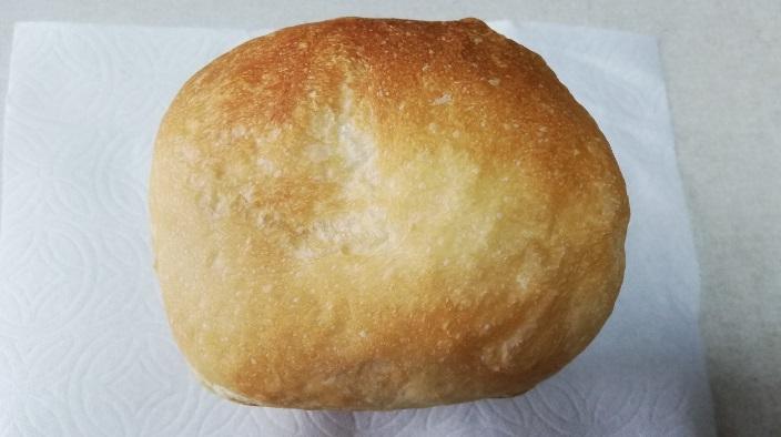 カメリアスペシャルで焼いたパン真上から
