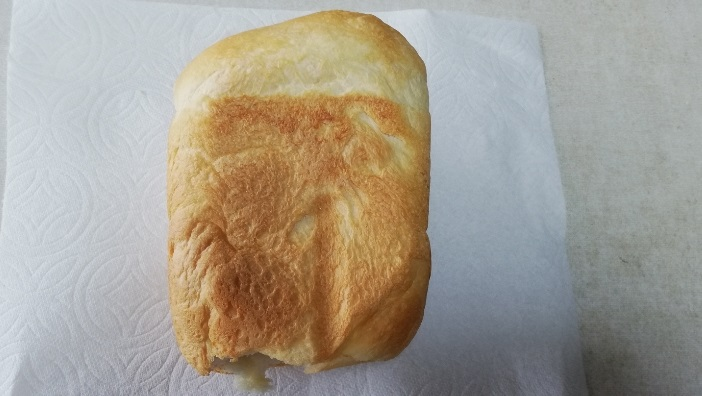 カメリアスペシャルで焼いたパン横から