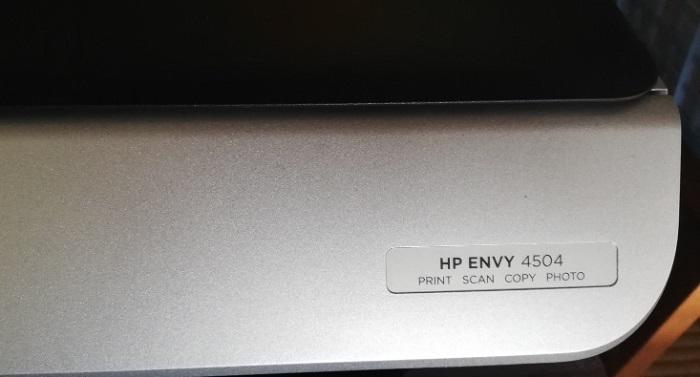 HP ENVY 4504プリンター!ドライバーを入れ直した!